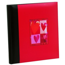 """Album photo mariage Walther """"Hearth is always red"""" pour 300 photos 10x15"""